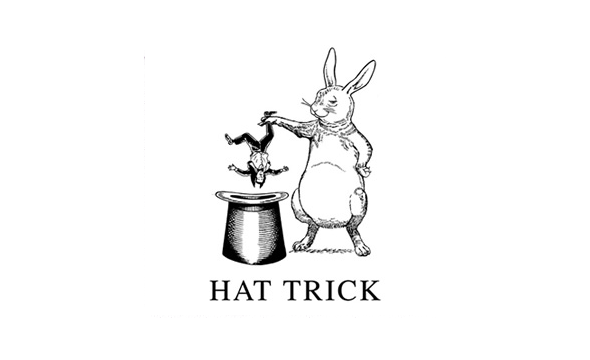 Hat Trick Productions Logo rabbit and hat