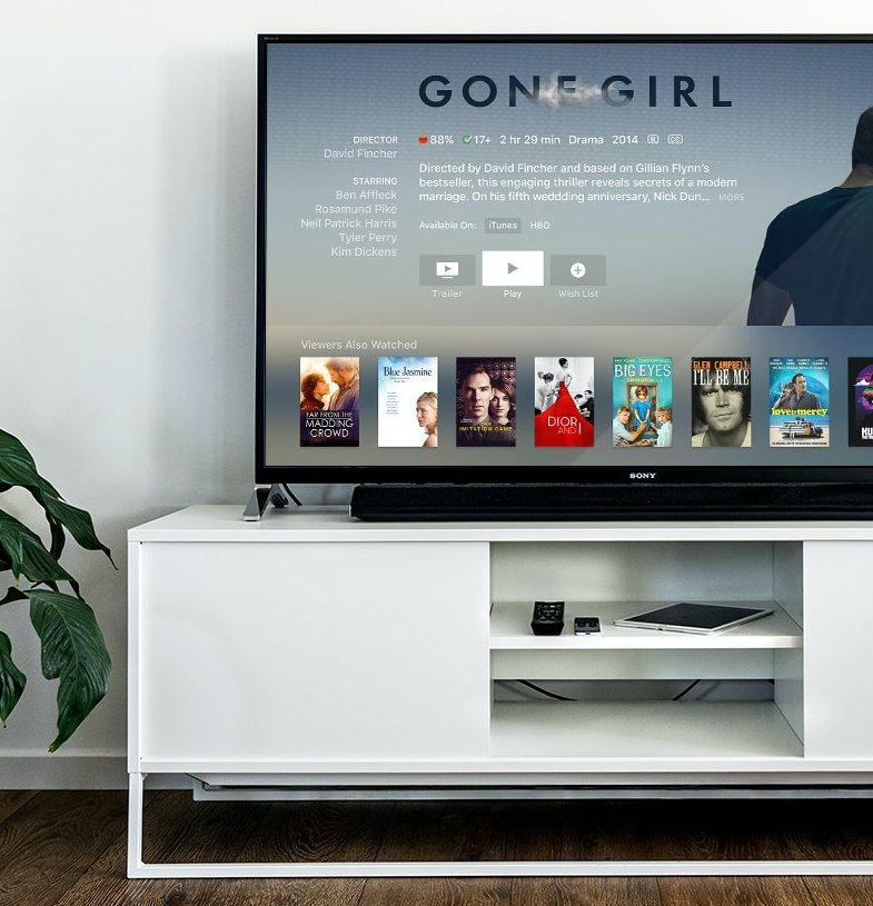 TV screen Overnights.tv